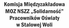 """NSZZ """"Solidarność"""" Pracowników Oświaty w Stalowej Woli"""